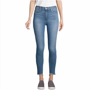 Joe's Jeans High Rise Split Raw Hem Brielle Jeans